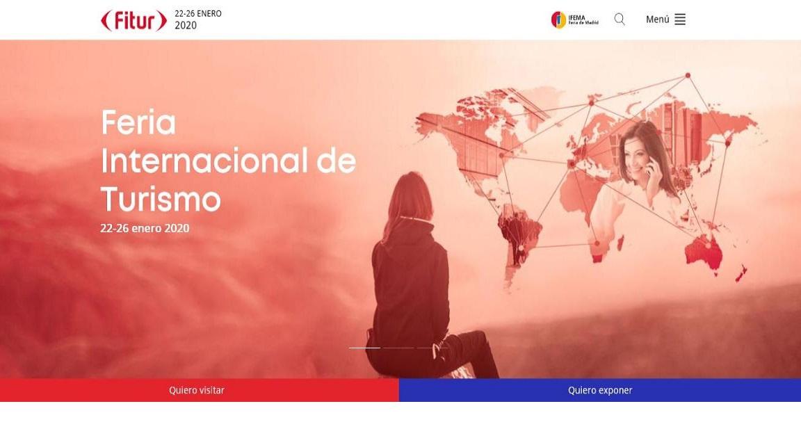 """Resultado de imagen para En su 40 Aniversario FITUR muestra la fortaleza de la industria mundial del turismo"""""""