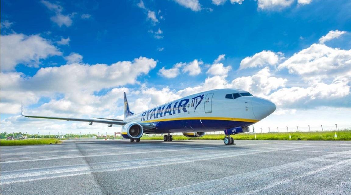 En julio Ryanair operará un 40% de sus vuelos