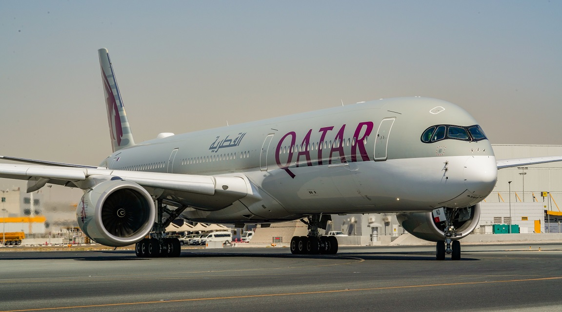 Qatar Airways A350 - 1000