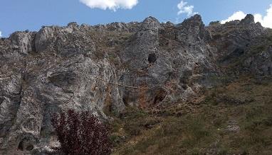Huerta del Rey, Burgos, inaugura una vía ferrata
