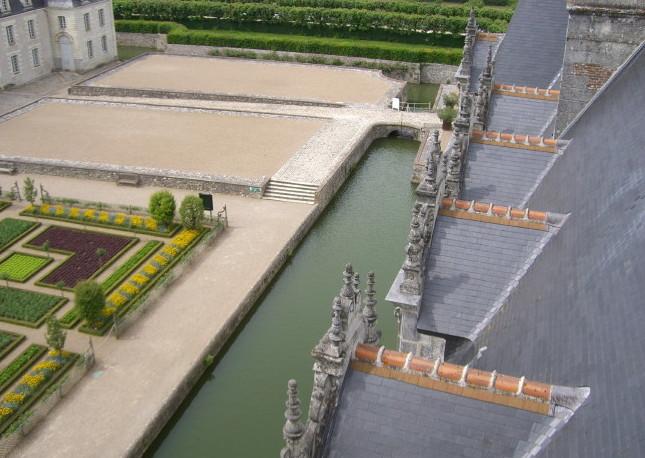 Castillo de Villandry, en el Valle del Loira