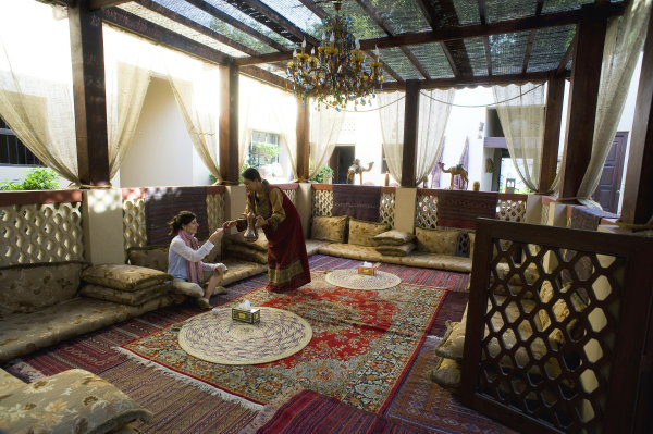 Decoracion arabe terraza for Decoracion arabe interiores